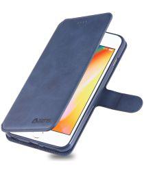 Apple iPhone 6S Portemonnee Hoesje Blauw