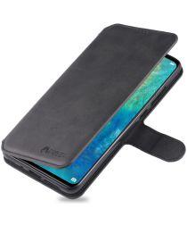 Huawei Mate 20 Portemonnee Hoesje Zwart