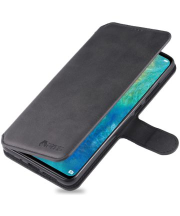 Huawei Mate 20 Portemonnee Hoesje Zwart Hoesjes