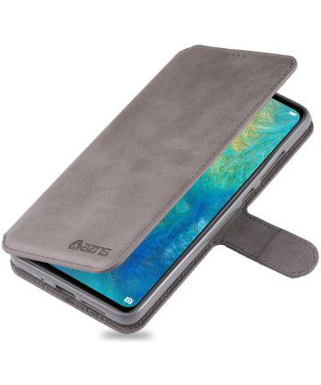 Huawei Mate 20 Portemonnee Hoesje Grijs Hoesjes