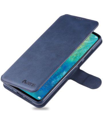 Huawei Mate 20 Portemonnee Hoesje Blauw Hoesjes