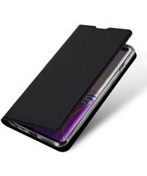 Dux Ducis Book Case Samsung Galaxy S10 Plus Hoesje Zwart