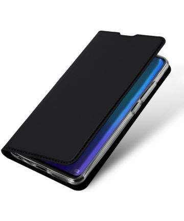 Dux Ducis Book Case Huawei P30 Hoesje Zwart