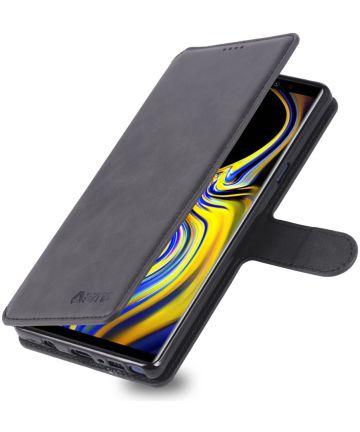 Samsung Galaxy Note 9 Portemonnee Hoesje Zwart