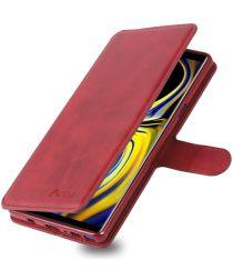 Samsung Galaxy Note 9 Portemonnee Hoesje Rood