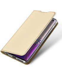 Dux Ducis Premium Book Case Samsung Galaxy S10 Hoesje Goud