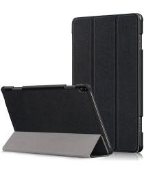Lenovo Tab P10 Hoes Tri-Fold Zwart