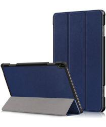 Lenovo Tab P10 Hoes Tri-Fold Blauw