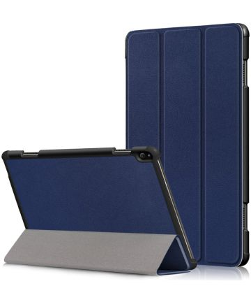 Lenovo Tab P10 Hoes Tri-Fold Blauw Hoesjes