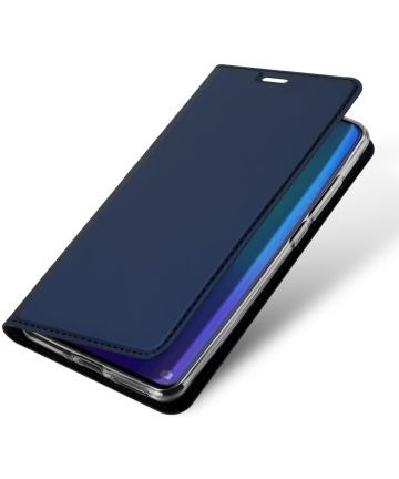 Dux Ducis Book Case Huawei P30 Pro Hoesje Blauw Hoesjes