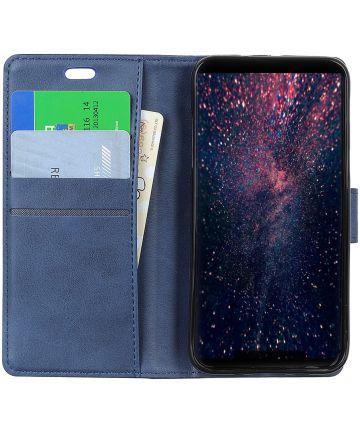Sony Xperia 1 Portemonnee Hoesje Blauw Hoesjes