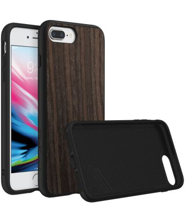 RhinoShield SolidSuit Black Oak iPhone 7 Plus / 8 Plus Hoesje Hoesjes