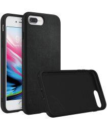 RhinoShield SolidSuit Black Leather iPhone 7 Plus / 8 Plus Hoesje