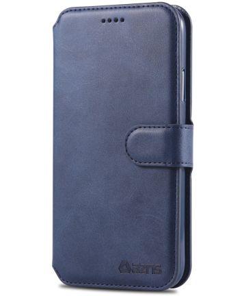 Apple iPhone XR Portemonnee Hoesje Blauw