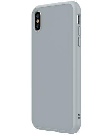 RhinoShield SolidSuit Classic iPhone XS Hoesje Grijs Hoesjes