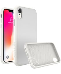 RhinoShield SolidSuit Classic iPhone XR Hoesje Wit
