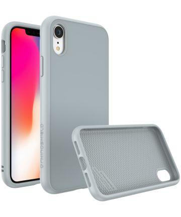 RhinoShield SolidSuit Classic iPhone XR Hoesje Grijs Hoesjes