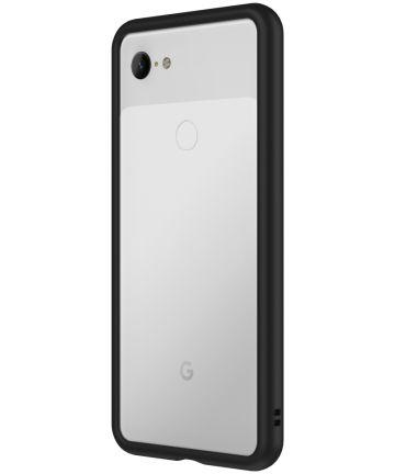 RhinoShield CrashGuard Google Pixel 3 Bumper Hoesje Zwart Hoesjes