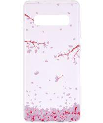 Samsung Galaxy S10 Plus Print TPU Hoesje Bloemen