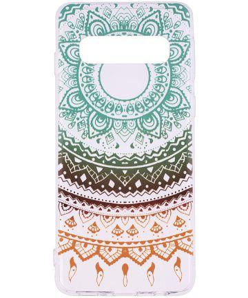 Samsung Galaxy S10 Print TPU Hoesje Mandala Hoesjes