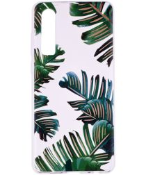 Huawei P30 TPU Hoesje met Marmer Opdruk Palm