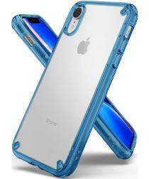 Ringke Fusion Apple iPhone XR Hoesje Blue