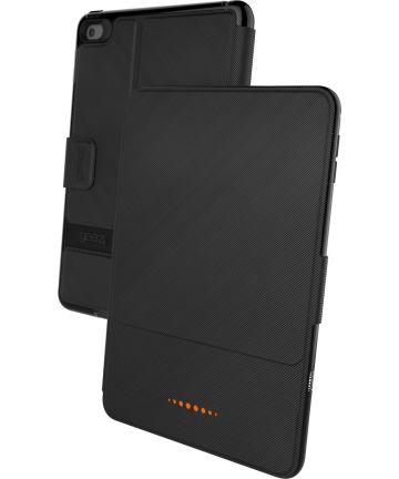 Gear4 D3O Bookcase Apple iPad Mini 4 Hoes Zwart Hoesjes