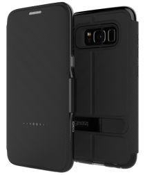 Gear4 D3O Oxford BookCase Samsung Galaxy S8 Telefoon Hoesje Zwart