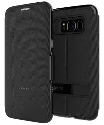 Gear4 D3O Oxford BookCase Samsung Galaxy S8 Telefoon Hoesje Zwart Hoesjes