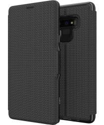 Gear4 D3O Oxford BookCase Samsung Galaxy Note 9 Telefoon Hoesje Zwart