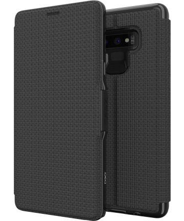 Gear4 D3O Oxford BookCase Samsung Galaxy Note 9 Telefoon Hoesje Zwart Hoesjes