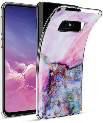 Samsung Galaxy S10E TPU Hoesje met Marmer Print Hoesjes