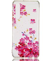 Huawei P30 TPU Hoesje met Bloemen Print