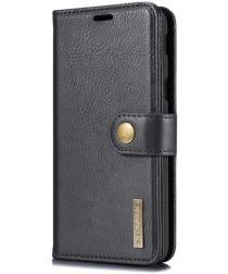Samsung Galaxy J6 (2018) Leren 2-in-1 Portemonne Hoesje Zwart