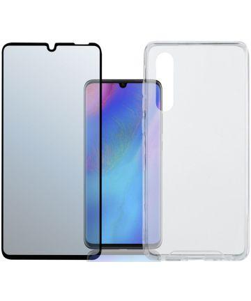 4smarts Colour Frame Tempered Glass + TPU Hoesje Galaxy S10E Zwart Hoesjes