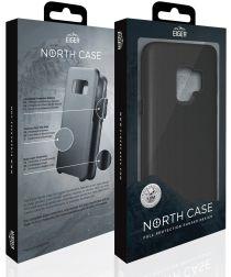 Eiger North Case Hybride Back Cover Samsung Galaxy S9 Plus Zwart
