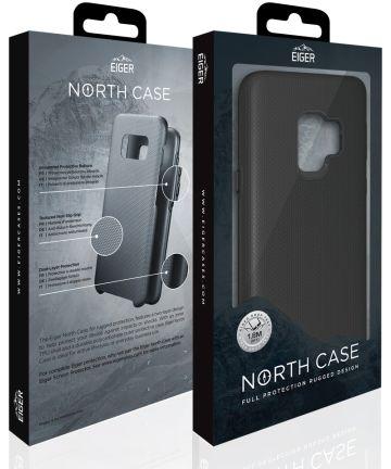 Eiger North Case Hybride Back Cover Samsung Galaxy S9 Plus Zwart Hoesjes