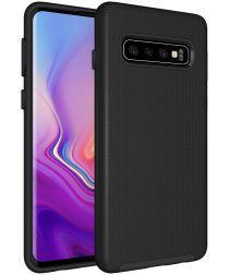 Eiger North Case Hybride Back Cover Samsung Galaxy S10 Zwart