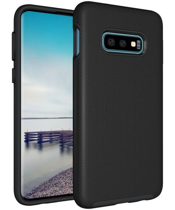 Eiger North Case Hybride Back Cover Samsung Galaxy S10E Zwart Hoesjes