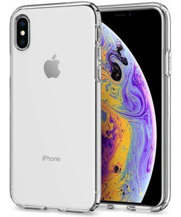 Spigen Crystal Flex Hoesje Apple iPhone XS/X Transparant