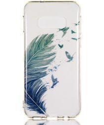 Samsung Galaxy S10E TPU Back Cover met Print Veer