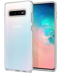 Spigen Liquid Crystal Hoesje Samsung Galaxy S10 Transparant