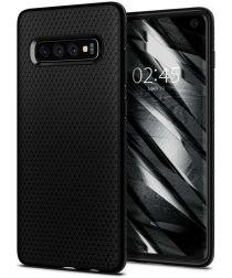 Spigen Liquid Air Hoesje Samsung Galaxy S10 Zwart