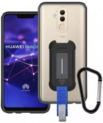 Armor X BX-Series Huawei Mate 20 Lite Robuust Hoesje Transparant Zwart