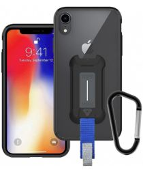 Armor X BX-Series Apple iPhone XR Robuust Hoesje Transparant Zwart