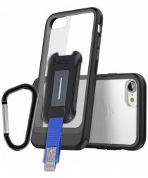 Armor X BX-Series Apple iPhone 8 / 7 Robuust Hoesje Transparant Zwart