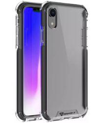 Armor X CBN-Series Apple iPhone XR Hybride Hoesje Transparant Zwart