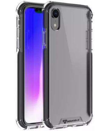 Armor X CBN-Series Apple iPhone XR Hybride Hoesje Transparant Zwart Hoesjes