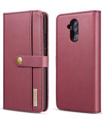 Huawei Mate 20 Lite Leren 2-in-1 Bookcase en Back Cover Hoesje