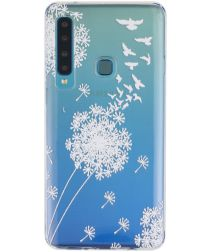Samsung Galaxy A9 (2018) Transparant Hoesje met Print Dandelion
